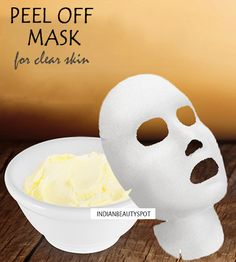 DIY Peel Off Mask to Clear blackheads and shrink Pores