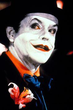 Jack Nicholson, the best! (Although I love Heath Ledger's Joker, too. And the comic version of Mark Hamill. Aaah I just love The Joker, no matter which one xD) Tim Burton Batman, Tim Burton Films, Im Batman, Batman Stuff, Joker Dc, Joker And Harley Quinn, Joker Film, Jack Nicholson, Joker Nicholson