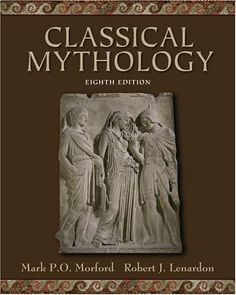 Classical Mythology by Mark P. O. Morford http://www.amazon.com/dp/0195308050/ref=cm_sw_r_pi_dp_R2pEvb0XJW5CY