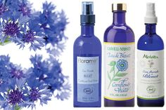 Cornflower Water: Your solution to red, irritated skin, itchy, puffy eyes and deep, dark circles.