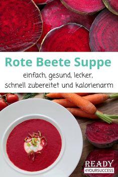 Beetroot soup - What's a detoxification diet? Vegetarian Turkey, Vegetarian Lentil Soup, Vegetable Soup Healthy, Vegetarian Recipes, Healthy Recipes, Easy Detox Cleanse, Detoxification Diet, Detox Soup Cabbage, Beetroot Soup