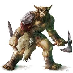 dungeons and dragon bugbear because its a goblin humanoid mixture