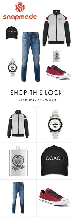 """snapmade"" by malishevan on Polyvore featuring Levi's, Converse, men's fashion и menswear"