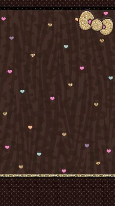 Corazones y chocolate Love Pink Wallpaper, Bow Wallpaper, Animal Print Wallpaper, Hello Kitty Wallpaper, Couple Wallpaper, Kawaii Wallpaper, Cute Wallpaper Backgrounds, Pretty Wallpapers, Pattern Wallpaper