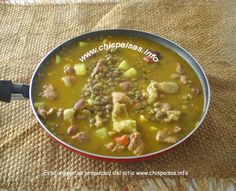 Colombian Food, Colombian Recipes, Chorizo, Cheeseburger Chowder, Htm, Cooking, Ethnic Recipes, Gourmet, Healthy Lentil Soup