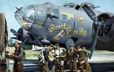 "Boeing B-17F, s/n 42-30721,"" Sweet and Lovely"" 381st Bomb Group, Spring/Summer 1944"