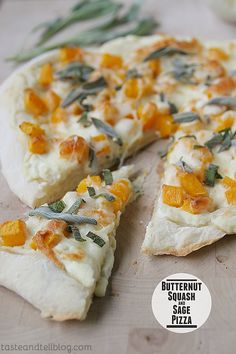 Butternut Squash and Sage Pizza