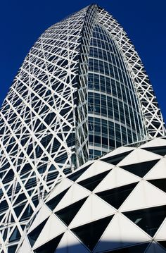 ☮ Modern architecture Mode Gakuen Cocoon Tower - Tokyo, Japan | Incredible Pictures