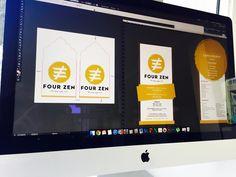 Criação da linha gráfic para a FourZen. #design #designgrafico #graphicdesign #creativity #criatividade #inspiration #inspiracao #bestdesign #color #empresa #inspiration #inspiracao  #flyer #cardbusiness #cartaodevisita #card #cardinspiration