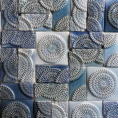 Akashic Tiles | Textured Tiles Vintage Tile, Tiles Texture, Fish Scales, Handmade Tiles, Crystal Palace, Textures Patterns, House Design, Crystals, Cape