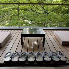 japanese garden balcony - Google Search
