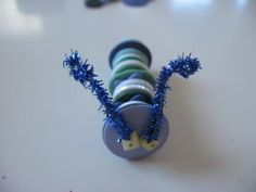 Super Fun Kids Crafts : Button Crafts For Kids
