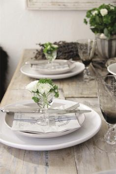 White and rustic wood