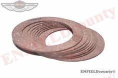 8 PIECE CLUTCH PLATE FIBRE PLATE FRICTION DISC 15-2419 BSA M20 M21