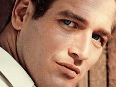 Paul Newman - who could resist those deep blue eyes