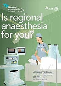 National Anaesthesia Day - ANZCA Medical College, Clinic, October, Day