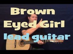 How To Play Brown Eyed Girl Riff - Van Morrison - Acoustic Guitar Lessons for Beginners - YouTube