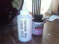 Lol acido borico for roaches!