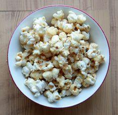 maple syrup popcorn