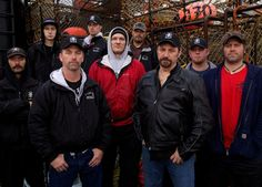 Crew of Time Bandit from Deadliest Catch - the fun boys ;)