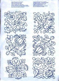 ru / Фото - Spaß an Handarbeiten - Li-Sav Mexican Embroidery, Hungarian Embroidery, Folk Embroidery, Hand Embroidery Designs, Cross Stitch Embroidery, Embroidery Patterns, Print Patterns, Indian Patterns, Embroidery Techniques