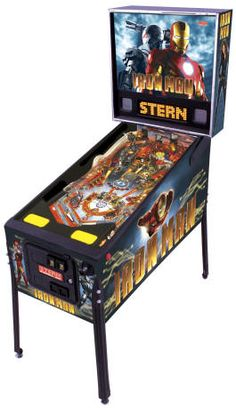 Iron Man / Iron Man Pinball Machine From Stern Pinball Arcade Game Machines, Arcade Games, Stern Pinball, New Iron Man, Iron Man Movie, Pinball Wizard, Penny Arcade, Blockbuster Film, Room Planning