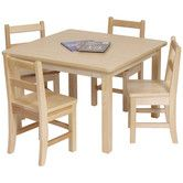 Found it at Wayfair Supply - Kids Square Table