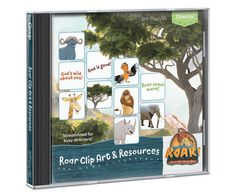 Roar Clip Art & Resources CD - Roar VBS by Group