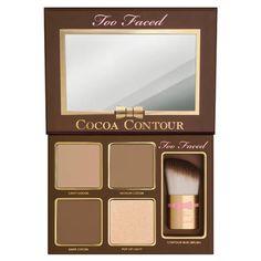 Cocoa Contour Chiseled to Perfection - Palette de maquillage de Too Faced sur Sephora.fr