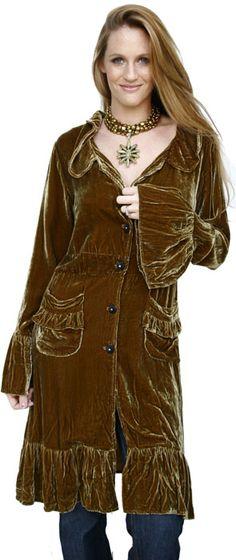Marrika Nakk Velvet Victorian Coat