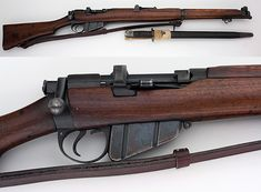 BRITISH LEE ENFIELD NO. 1 SMLE MK III .303 SHORT MAGAZINE RIFLE W/BAYONET C&R OK For Sale at GunAuction.com - 11346771
