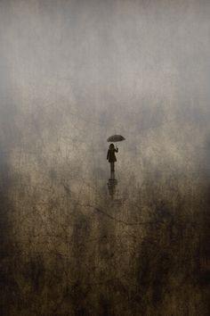♂ Solitude girl with Umbrella