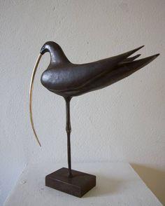 "Saatchi Art Artist Ronan Halpin; Sculpture, ""Curlew"" #art"