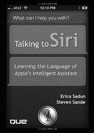 What can you say to Siri in iOS 6?
