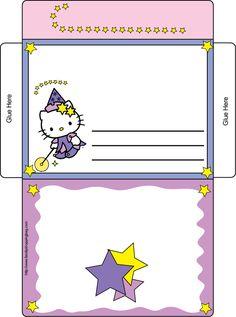 Hello Kitty Letter Envelope