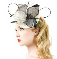 Facinators are huge (literally) in the UK, and were prominent at this morning's Royal Wedding. And of course, Etsy is an incredible place to get some incredible finds. http://www.etsy.com/people/TiarasAndFascinators?ref=ls_profile