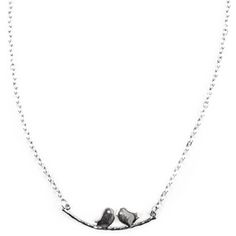 Zwazo Necklace : A charming antique silver choker accented with two birds on a silver branch. Simple and casual. Pair with the St. Gerard Earrings or layer with the Susy Necklace. Zwazo means 'bird' in Creole, the native language of Haiti.