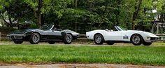 Two 1969 Chevrolet Corvette Convertibles Meet Up and Go on Sale as a Pair Chevrolet Corvette, 1957 Chevrolet, Chevrolet Trucks, Chevrolet Silverado, Aston Martin Vanquish, Cabriolet, Chevelle Ss, Bmw 3 Series, Bugatti Veyron