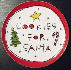 Cookie plate- cute using a kids font