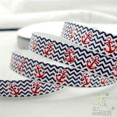 Cute anchors ribbon.