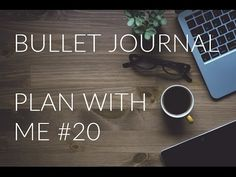 Bullet Journal Plan with Me #20 in ring binder or planner - YouTube