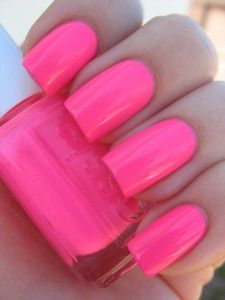 Essie Pink Parka. So adorable and great for summer and spring!(: Makes tan skin look TANNER.(: