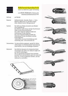 Binding onto a stick - German Tutorial