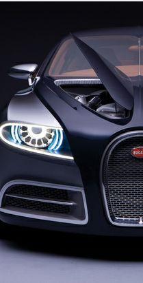 Luxury car black Bugatti!!