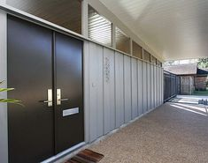 1000 images about doors on pinterest mid century for Mid century modern architects houston