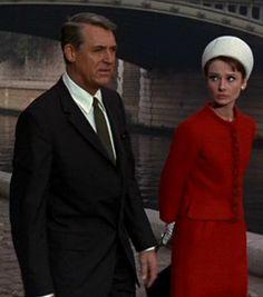 Audrey Hepburn, Cary Grant - 'Charade'.