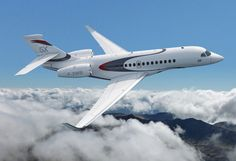 The Falcon 5X, the latest business jet by Dassault Aviation - to discover - www.themilliardaire.co