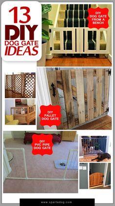 13 DIY Dog Gate Ideas - SpartaDog Blog