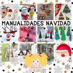 Bonitas manualidades de Navidad fáciles de hacer para niños Crafts For Kids, Christmas Ornaments, Holiday Decor, Blog, Diy, World, Toddler Christmas Crafts, Christmas Activities, Preschool Crafts
