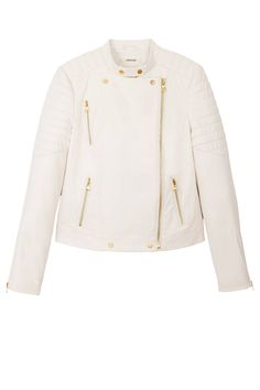 15 Best Leather Jackets for Fall - Moto and Shearling Lined Leather Jackets - Harper's BAZAAR